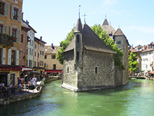 Vacanze studio francese adulti Annecy